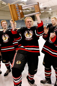 The Charleswood Hawks are hoping to celebrate an MMJHL championship for the fifth consecutive season.