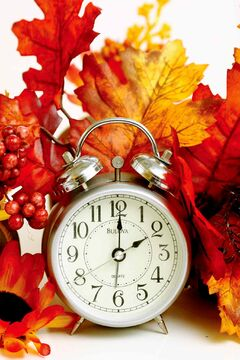 Daylight saving time will end Nov. 3, meaning the clocks will be turned back one hour.