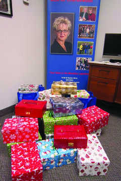 Charleswood residents came through for The Shoebox Project, contributing 23 shoeboxes toward the effort this year.