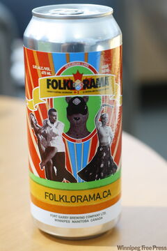 Folklorama beer, seen here in 2008, is returning for the 2009 festival.