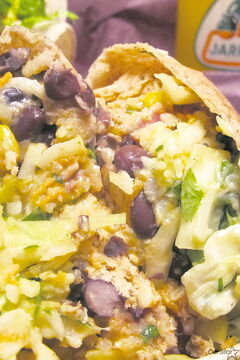 "Burrito ""Splendido"" indeed: The burritos at this Portage Avenue eatery are hearty and filling."