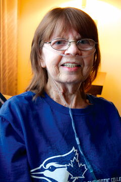 Linda Cameron uses Age and Opportunities' Senior Centre Without Walls program to connect with others.