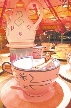 The Mad Tea Party ride from Alice In Wonderland is also in New Fantasyland.