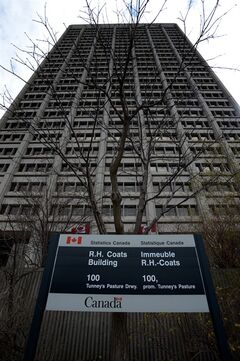 The Statistics Canada offices in Ottawa are seen on Tuesday, May 1, 2013. The debut of Canada's controversial census replacement survey shows there are more foreign-born people in the country than ever before, at a proportion not seen in almost a century, according to the National Household Survey. THE CANADIAN PRESS/Sean Kilpatrick