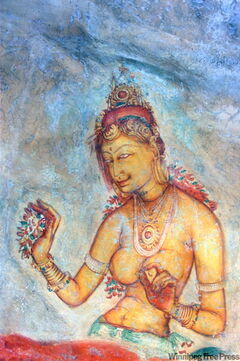 Painted 1,500 years ago, Sigiriya's frescoes of beautiful women have lost neither colour nor allure.