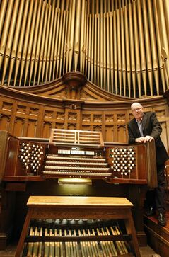 Don Menzies will perform on the Casavant organ Sunday in the final concert of the Westminster Concert Organ Series.