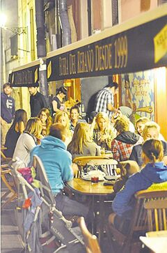 La Cuchara de San Telmo, part of San Sebastian Food's Pintxo Tasting Tour, was packed.