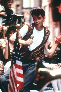 Ferris Bueller's Day Off, starring Matthew Broderick, will be shown Aug. 13.