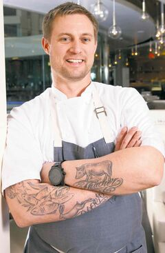 'Top Chef' alumnus Bryan Voltaggio owns the new restaurant Range in Washington, which lives up to its hype.