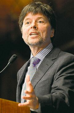 Documentary filmmaker Ken Burns discusses his latest film project,