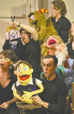 Avenue Q company raised funds online.