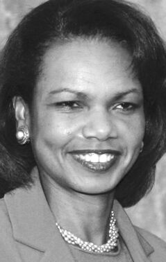 U.S. Secretary of State, Condoleeza Rice