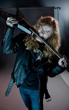 Megadeth frontman Dave Mustaine.