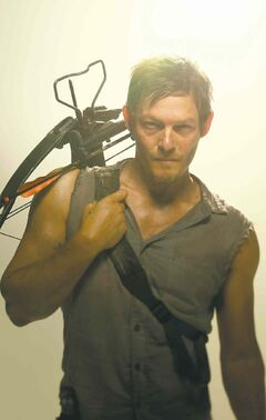Norman Reedus plays the character Daryl Dixon on
