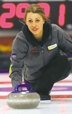 Meagan Brezden has knocked off some of the big guns this week in Portage la Prairie.