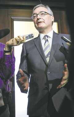 Finance Minister Stan Struthers may have found a more formidable opponent than he imagined.