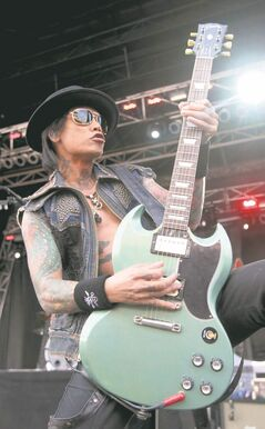 Stevie D and Buckcherry  will headline volleyball bash.