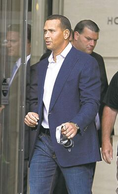 Yankees' third baseman Alex Rodriguez has a load of legal problems.