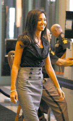 Ex-cheerleader Sarah Jones felt vindicated by the jury's ruling.