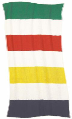 HBC Luxe Beach Towel, $40