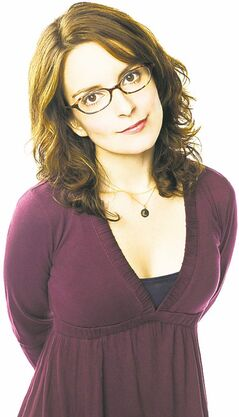 FULL CLOSE CUT CLOSECUT - 30 ROCK -- Pictured: Tina Fey as Liz Lemon -- NBC Photo: Mary Ellen Mathews.