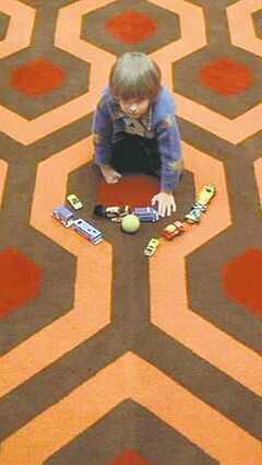 Come and play with us, Danny:  Danny Lloyd in The Shining.