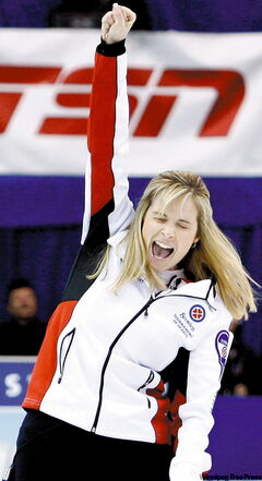 Jennifer Jones: rink feels 'very privileged' about success.