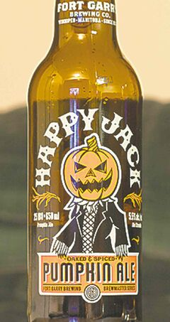 Fort Garry Happy Jack Pumpkin Ale.