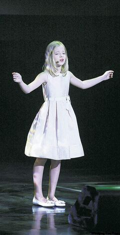Jackie Evancho: improbably voiced opera singer