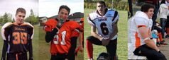 Grande Prairie, Alta. high school football players who were killed in a fatal car accident (left to right) Walter Borden-Wilkins, Vincent Stover, Tanner Hildebrand and Matthew Deller are shown in these handout photos taken from a Facebook tribute page. The Crown has said Brenden Holubowich, 23, is expected to enter a plea in court and lawyers are to argue over what sentence he should receive. He faces 16 charges, including impaired driving causing death and failing to remain at the scene of an accident in which the four players died. THE CANADIAN PRESS/HO-Facebook-In memory of Matthew Deller