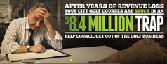 The city has launched a website called Responsible Winnipeg, encouraging citizens to contact their councillors and tell them to vote in favour of a plan to sell off John Blumberg Golf Course and hand over operations of four others to an Ontario firm.