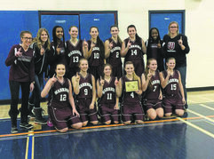 The Westwood Warriors Varsity Girls' Basketball team took home first place at Shaftesbury Tournament.