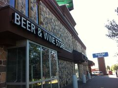 The beer and wine store attached to this Regina hotel was plenty busy on the Labour Day weekend.