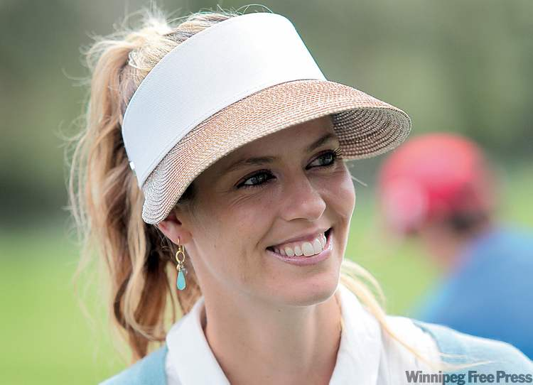 LPGA golfers Anna Rawson (above), Lee Young Lee , Morgan Pressel,  and Paula Creamer understand star power is a part of the world of women's sports.