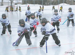 Young River East ringette players took part in a day-long Bunny Jamboree at North Kildonan C.C. on Feb. 23
