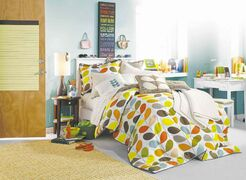A comforter is usually among the first purchases that make a small apartment or dorm room feel like home.