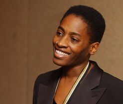 Author Jacqueline Woodson is pictured Nov. 20, 2002 in New York. THE CANADIAN PRESS/AP, Mark Lennihan