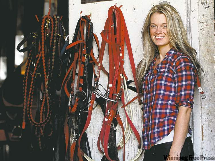 Apprentice rider Janine Smith, from B.C., has three wins at the Downs heading into today's races.