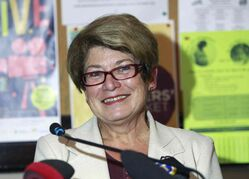 Judy Wasylycia-Leis enjoys a comfortable lead over Gord Steeves (below left) and Brian Bowman, a Probe poll has found.