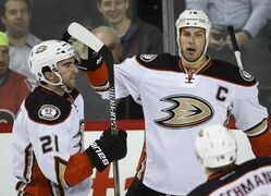 Anaheim Ducks Ryan Getzlaf says a loud, rowdy crowd is what the playoffs are all about