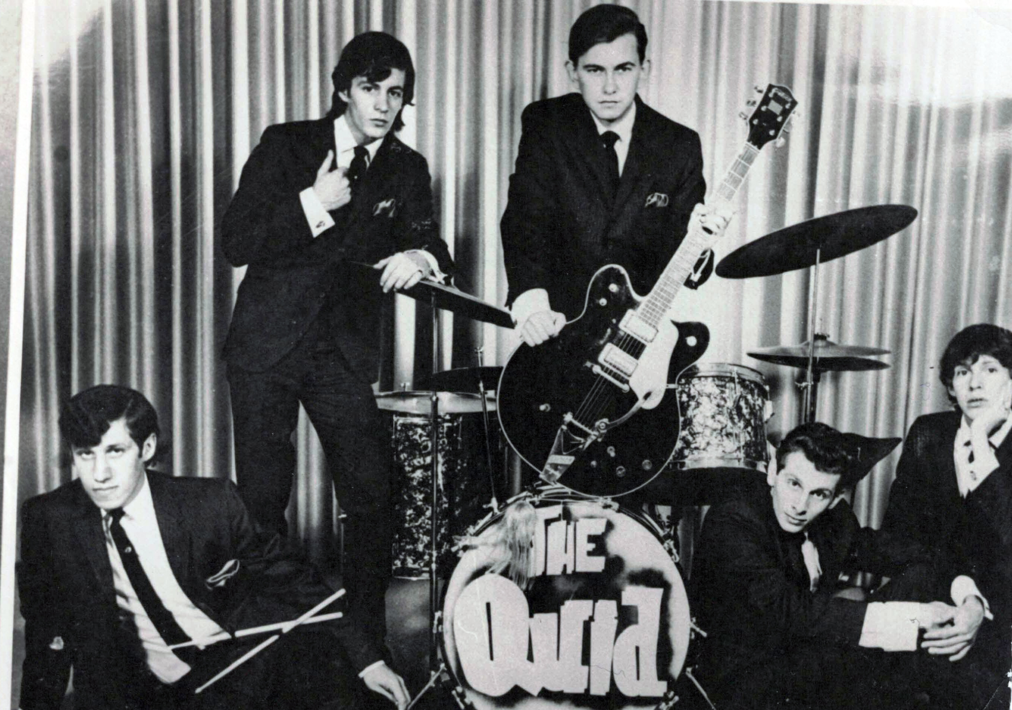The Quid circa 1966 (from left): Lenny Fidkalo, Ron Rene, Billy Pavlik, Colin Palmer and Morley Nickles.