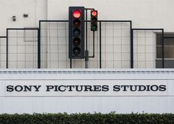 An exterior view of the Sony Pictures Studios building is seen in Culver City, Calif., Friday, Dec. 19, 2014. President Barack Obama declared Friday that Sony