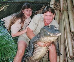 FILE - In this June 18, 1999 file photo, Steve Irwin,
