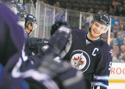Youngsters such as towering centre Adam Lowry could allow the Jets to accelerate their plan to bring drafted players to the NHL level.