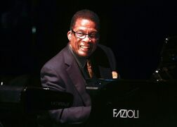 FILE - In this Oct. 24, 2014 file photo, honoree Herbie Hancock performs at the 13th annual