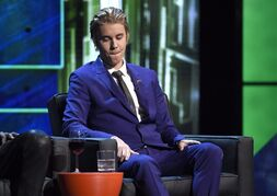 Justin Bieber appears on stage at the Comedy Central Roast of Justin Bieber at Sony Pictures Studios on Saturday, March 14, 2015, in Culver City, Calif. The lawyer for an limousine driver who has launched a civil lawsuit against Bieber says he is