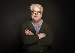 """FILE - In this Jan. 19, 2014 photo, Philip Seymour Hoffman poses for a portrait at The Collective and Gibson Lounge Powered by CEG, during the Sundance Film Festival, in Park City, Utah. The new theater prize inspired by the late Hoffman is up and running and seeking submissions that """"exhibit fearlessness."""" The Relentless Award, the largest annual cash prize in American theater awarded to a playwright in recognition of a new play, launched Friday, Jan. 30, 2015 with an annual award of $45,000 and the promise of workshops. Hoffman was found dead last Feb. 2, in New York. He was 46. (Photo by Victoria Will/Invision/AP, File)"""