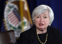 Federal Reserve Chairman Janet Yellen speaks in Washington on Sept. 17, 2014. THE CANADIAN PRESS/AP, Susan Walsh