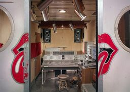 The Rolling Stones mobile studio being restored in Calgary is shown in a handout photo. THE CANADIAN PRESS/ HO-Colin Smith/National Music Centre