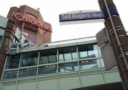 The Rogers Building is pictured in Toronto on April 22, 2014. THE CANADIAN PRESS/Darren Calabrese